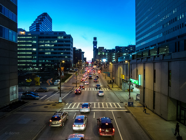 City Street (Commuting) By Dorret
